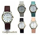 RAVEL GENTS/LADIES UNISEX WATCHES  SIMPLE EASY TO READ CLASSIC  NUMBERS GIFTS