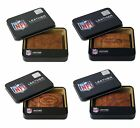 NFL Team Embossed Brown Leather Trifold Wallet New  * Pick Your Team * on eBay
