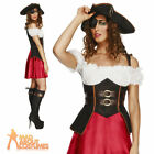 Sexy Pirate Wench Costume Ladies Fever Caribbean Fancy Dress Outfit New UK 8-18