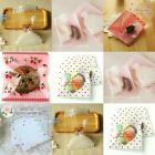 Cellophane Cello Cookie Candy Bags Self Adhesive Party Birthday 20/50/100pcs