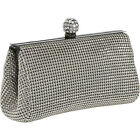 Whiting and Davis Dimple Mesh Clutch 4 Colors Clutche NEW
