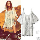 CelebStyle Gypsies White  Lace Cover Up