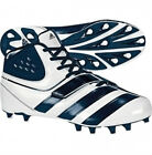 """Adidas Football """"Malice Fly """" Men's Molded Cleats White/Blue NWT $90 SIZE 13"""