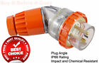 Industrial Male Angle Plug 5 Pin 10A 20A 32A 40A 50A Switchgear Electrical