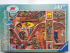 500 PIECE RAVENSBURGER JIGSAW PUZZLE THE LUDICROUS LIBRARY