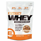 Efectiv Sports Nutrition Whey Protein Lean Muscle Gain 908g, 2kg