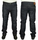 MENS JEANS DUCK & COVER BOXSIR REGULAR FIT STRAIGHT LEG DARK USED COLOUR JEANS