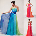 Plus Size 20 22 24 26 Womens Sexy Ball Gown Long Evening Party Homecoming Dress