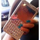 Bling View Leather Diamond Case Cover For Samsung Galaxy S6 Edge+ Plus Note 5