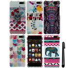 For AT&T Amazon Fire Phone Aztec Chevron PATTERN HARD Case Phone Cover + Pen