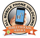 Mobile phone unlocking service iPhone shop Sign Window sticker POS sign decal