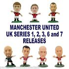 MANCHESTER UNITED MicroStars - Series 1, 2, 3, 6, 7 Choice of 15 figures