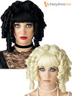 Ladies Ringlet Wig Gothic Ghost Doll Halloween Fancy Dress Costume Accessory
