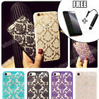 New Hard Back Damask Case Cover for Apple iPhone 5 5s 5c 6 6 Plus