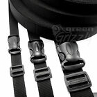 SET Polypropylene strap webbing + buckles + slides 20 25 40 mm