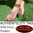 BALTIC AMBER ADULT ANKLETS - AGbA® Certified - Natural Health
