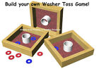 Washer Toss Game Plans (Complete Construction Plans) Corn Hole players love it.