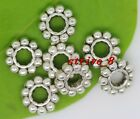 Lot 50-200-1000pcs Antique Silver Charms Spacer Beads Jewelry Beads DIY 6.5x2mm
