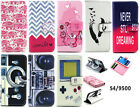 New Present PU Leather Flip Case Cover & Card Slot for Samsung Galaxy S4 i9500