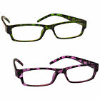 The Reading Glasses Company Green Purple Tortoiseshell 2 Pack UVR2PK009_009PP