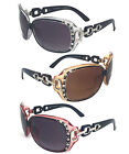 Rhinestones Womens Bifocal Readers Reading Sunglasses Glasses Tint UV Protection
