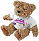 PERSONALISED SPECIAL OCCASION TEDDY BEAR GIFT - BIRTHDAY GIRL ANY NAME & AGE!