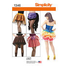 Simplicity Andrea Schewe Misses Sewing Pattern 1346 Costume Skirts Bustles