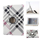360 Rotating Leather Smart Case Stand Cover for Apple iPad 2 3 4 Air Pro 2 mini