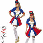 Adult Fever Naughty Nutcracker Costume Ladies Sexy Christmas Fancy Dress Outfit