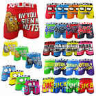 Mens Xplicit Funny Rude Novelty Cartoon Boxer Shorts Xplicit Boxer Trunks S-XL