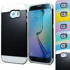 LUXURY HYBRID DUAL COLOR SHOCK PROOF HARD CASE COVER FOR SAMSUNG GALAXY S6 G920