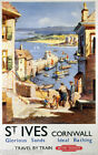 St Ives vintage British railways poster  Photographic reprint size A4 or A5