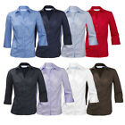 ENSEMBLE Ladies Blouse Shirt Top 3/4 Length Sleeve Easycare Work Office Formal