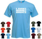 'I make adorable babies' Funny New Dad Father's Day Birthday Gift t-shirt