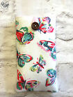 iPhone 4 5 6 7 8 Padded Case / Sleeve Made in Cath Kidston Butterflies Fabric