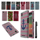 For ZTE ZMAX Z970 DIAMOND BLING CRYSTAL HARD Case Phone Cover + Pen