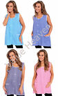 Ladies Tabard Overall Gingham Check Buttoned Apron Domestic Cleaning Cafe Wear
