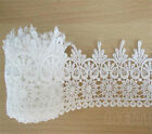 1m Vintage off White Crochet Lace Edge Fabric Wedding Dress Ribbon Sewing Crafts