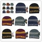 Hot! Harry Potter Hats Cosplay Hufflepuff Slytherin Gryffindor Ravenclaw Caps LA