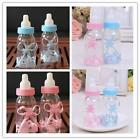 12pcs New Baby Shower Game Candy Bottle Baptism Favours Gifts Box Christening LA