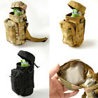 New Outdoor Military Tactical Molle Zipper Kettle Water Bottle Utility Pouch Bag