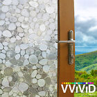Cobblestone Static Cling Window Films Vvivid Vinyl wrap film decal DIY TM142 001