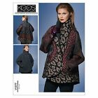 Vogue 1277 Designer Guy Laroche Reversible Jacket Plus Size Sewing Pattern V1277