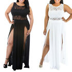 STON Womens Plus Size XXL White Black Long Maxi Dress Party Club Sexy Dress New