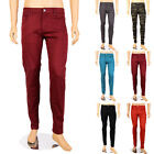 Victorious Mens New Slim Fit Skinny Jeans Stretch Denim Casual Pants