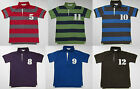 BODEN BOYS NUMBER POLO RUGBY TOP TEE SHIRT 100% COTTON AGES 1-14  BNWOT