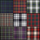 Tartan Fabric Polyester Viscose Mix High Quality Upholstery reduced clear price