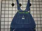 Liberty Bib Overall, Liberty Overall 14006, Stonewashed Overall, Zipper Fly, NWT