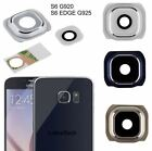 New Glass Camera Lens Cover Frame Part For Samsung Galaxy S6 G920 S6 G925 Edge