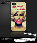 MARILYN MONROE case for iPod iPhone 4 4S 5 5S 5C 6 / Samsung S2 S3 S4 S5 & mini